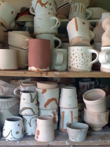 All the mugs I have made during my time on Meerkat