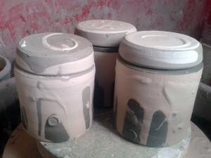 Slipped Jars