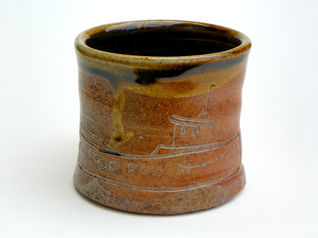 Wood Fired Boat Mug