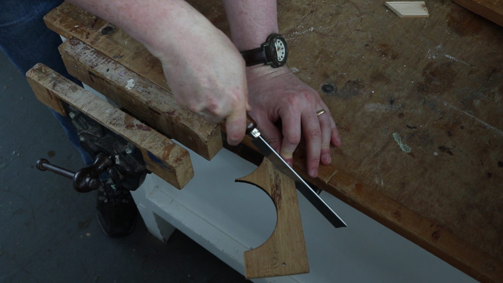 This sawing takes time